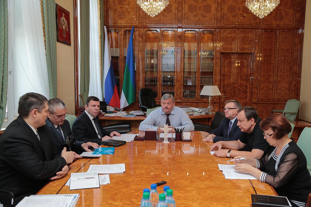 Сергей Гапликов проинспектирует строительство школы на 1200 мест в Сыктывкаре