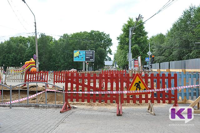 Улицу Ленина в Сыктывкаре закроют на ремонт
