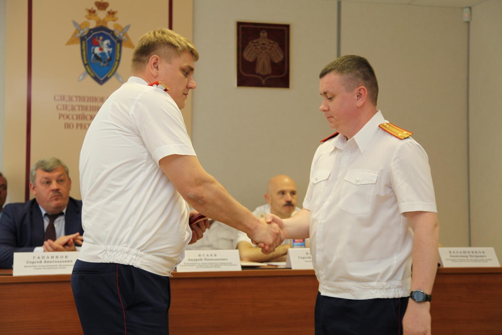 Отличившиеся следователи Коми получили госнаграды