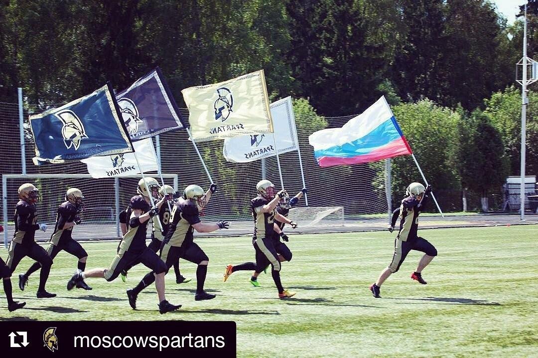 Сыктывкарец Омари Гриняев сменил местный футзал на столичный американский футбол