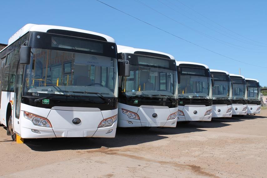 В честь 95-летия Коми в Сыктывкар доставлены экологичные автобусы