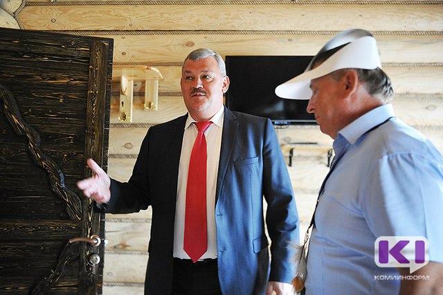Сергей Гапликов встретился с предпринимателями Усть- Вымского района, работающими в сфере туризма