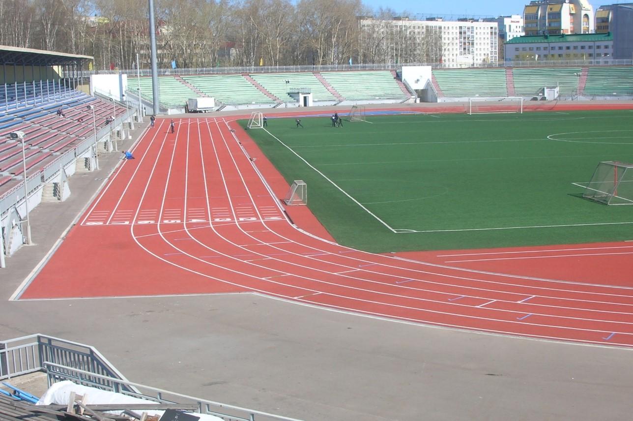 В Сыктывкаре завершается ремонт Республиканского стадиона