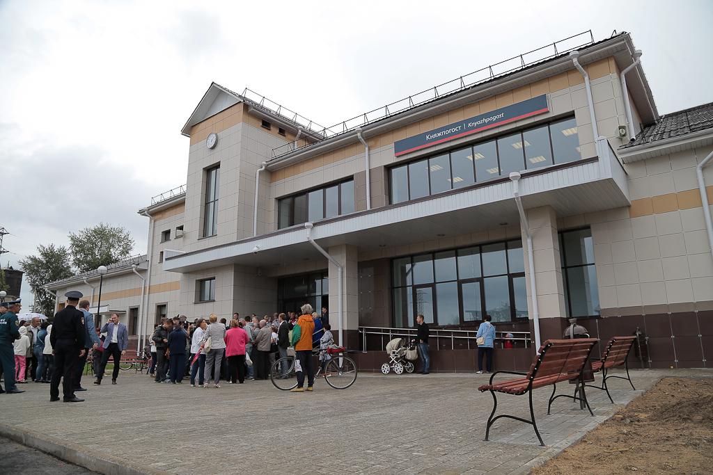 Коми в числе трех регионов РФ получила новый железнодорожный вокзал