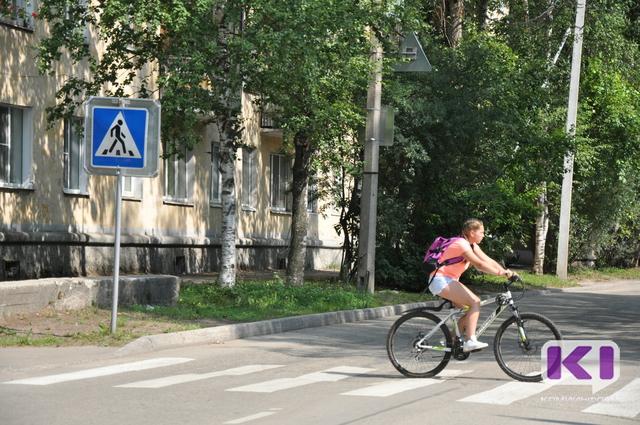 Не все пешеходные переходы вблизи сыктывкарских школ безопасны для детей