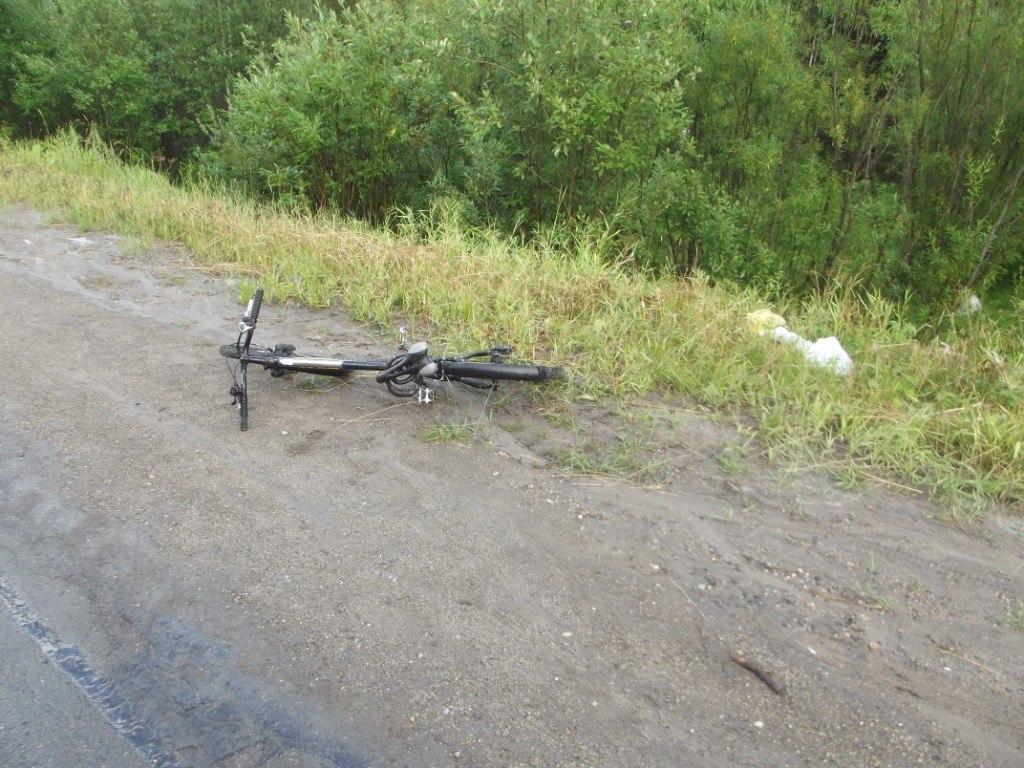На трассе Сыктывкар — Ухта сбили 80-летнего велосипедиста
