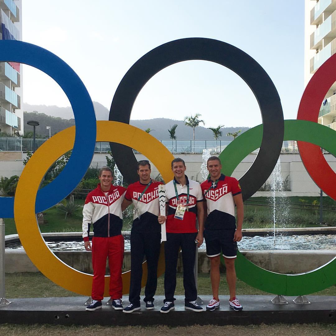 Ухтинец Александр Сухоруков стал первым на дистанции 4×100 вольным стилем в Рио