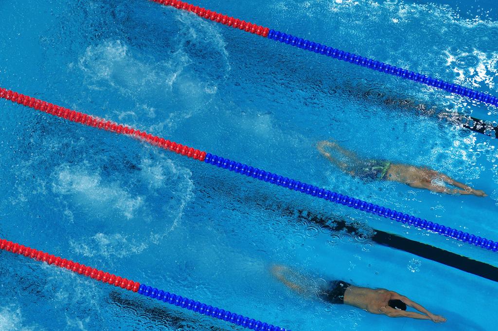 Александр Сухоруков проплыл мимо медали