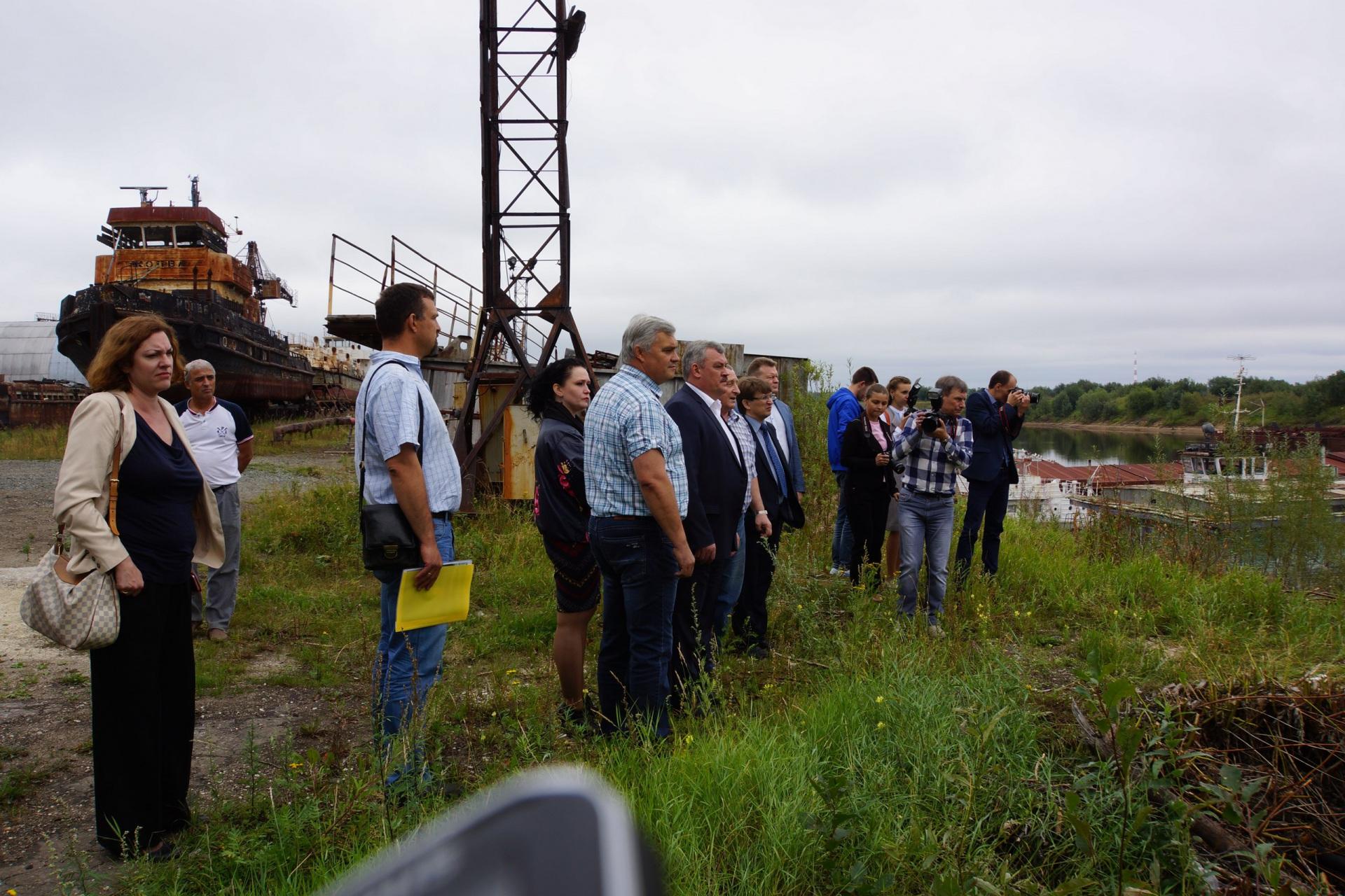 В Печоре обсудили будущее  судостроительного завода