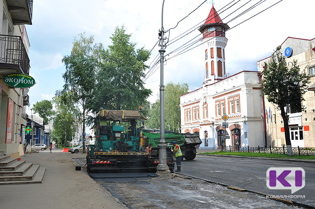 В Сыктывкаре перекроют еще один участок дороги по улице Советской