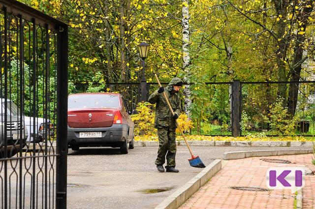 Сыктывкарские дворы благоустроят на 45 миллионов рублей