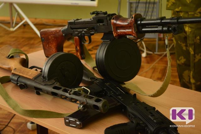 В Коми компенсация за боевое оружие составит пять тысяч рублей