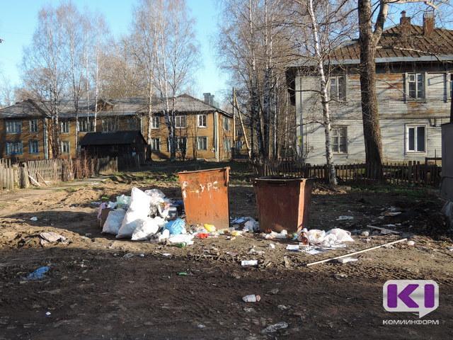 В Максаковке коммунальщики не убрали мусор, собранный во время субботника