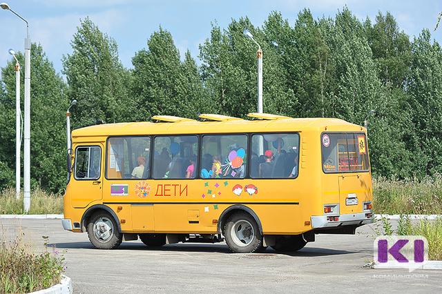 В Коми водитель школьного автобуса попался пьяным за рулем