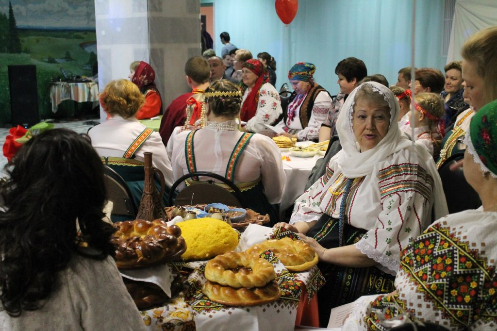 В Усогорске представили семейные традиции разных народов