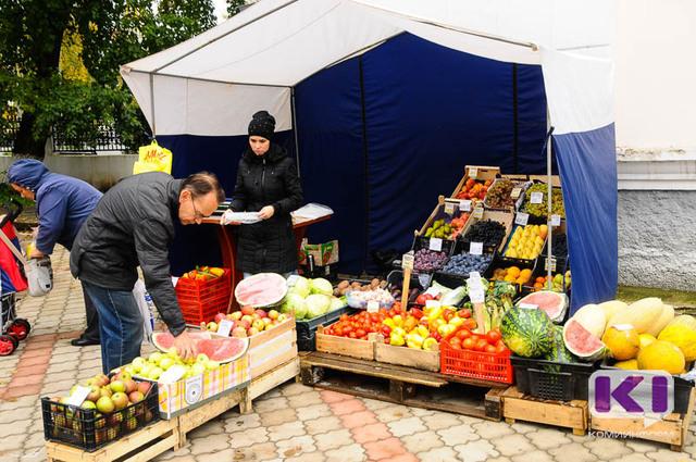 В Сыктывкаре выросла плата за уличную торговлю