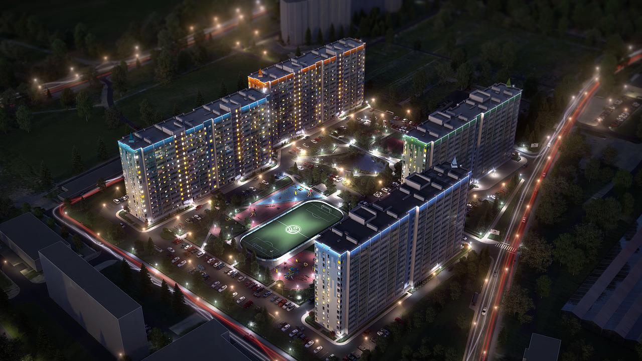 """Строящийся жилой комплекс """"Атлантида"""" в Сыктывкаре: комфортно, безопасно, красиво и недорого"""