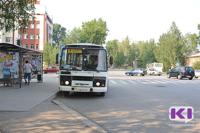 12 июня в Сыктывкаре изменится движение автобусов