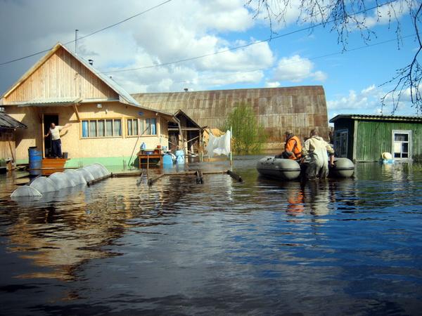 Река Печора вплотную подошла к восьми населенным пунктам в Усть-Цильме