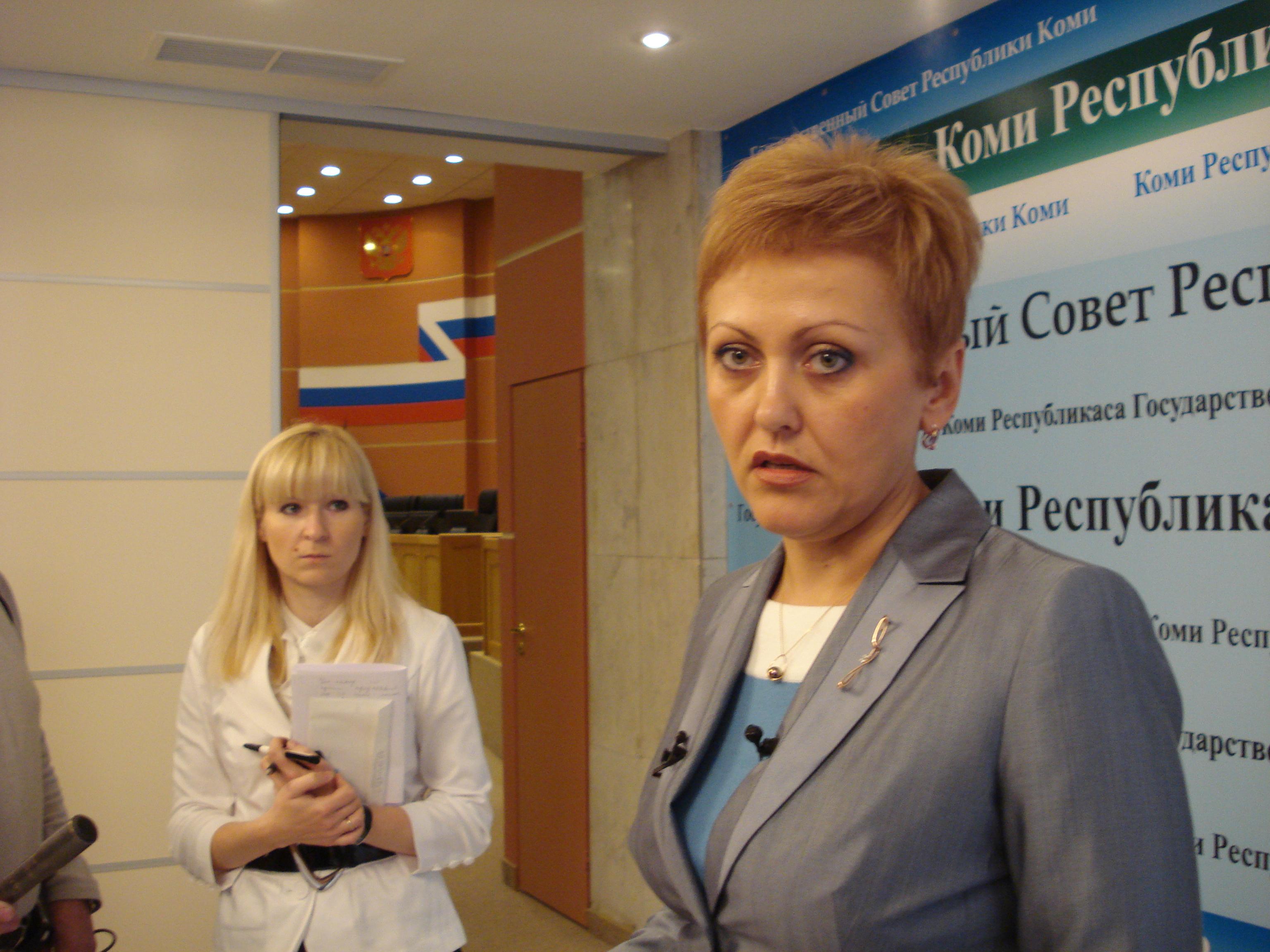 Марину Истиховскую не пугает эксперимент по переводу председателя Общественной палаты Коми на профессиональную основу