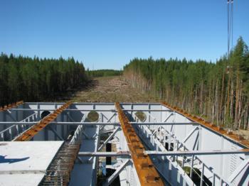 Продолжается строительство автодороги Сыктывкар – Ухта – Печора – Усинск