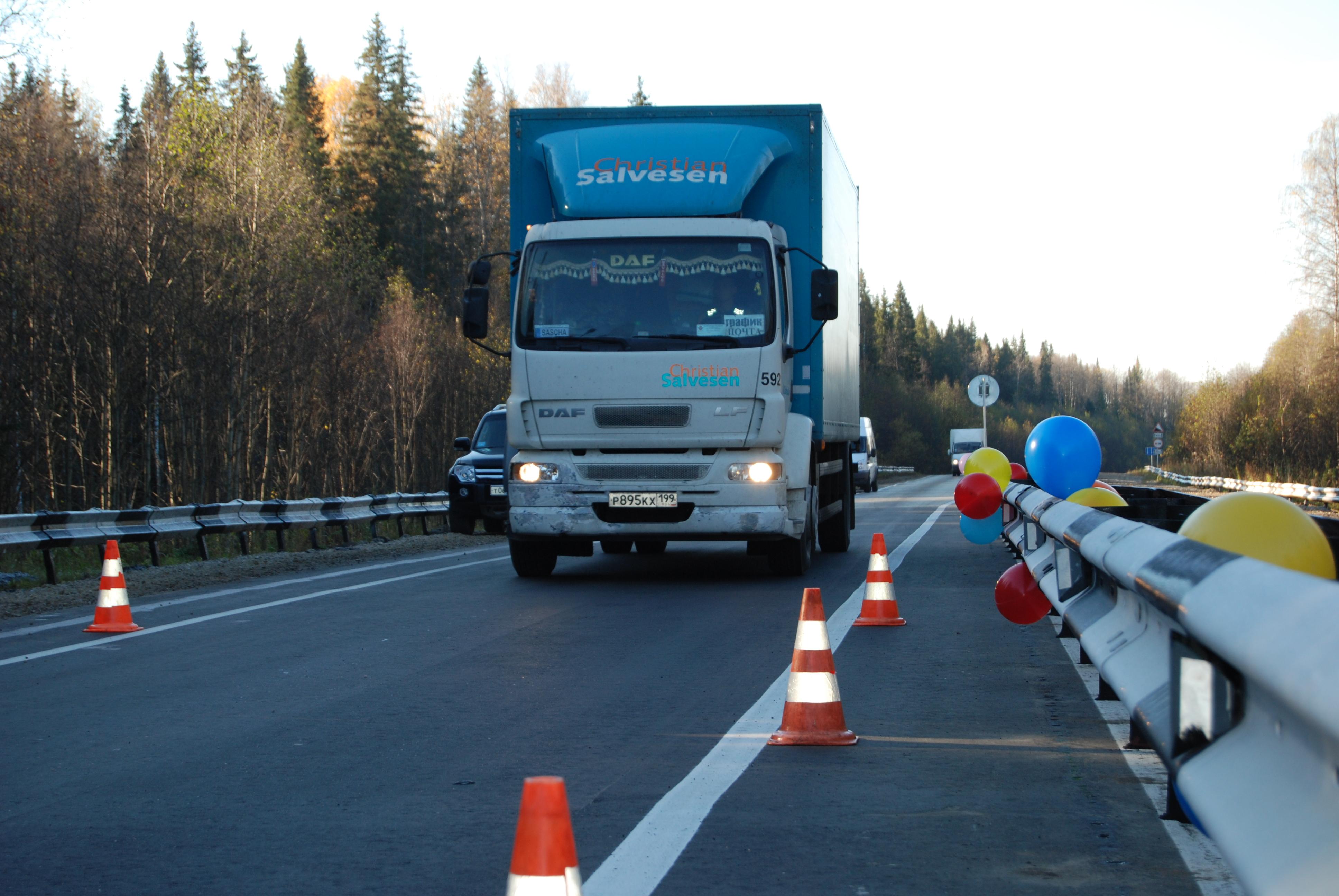 Вячеслав Гайзер побывал на новой станции дорожного весового контроля в Коми