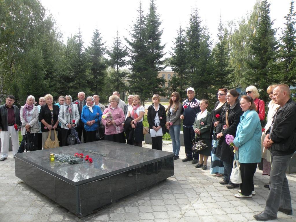 В Сыктывкаре состоялся поминальный митинг, посвященный Дню памяти и скорби российских немцев