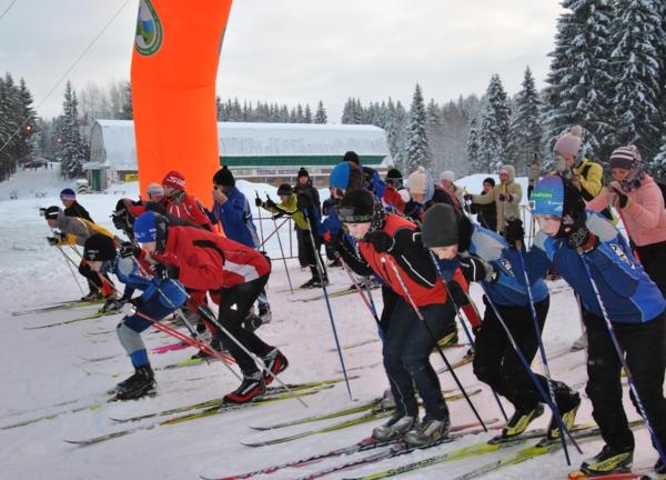 В Сыктывкаре определили победителей традиционной новогодней лыжной гонки
