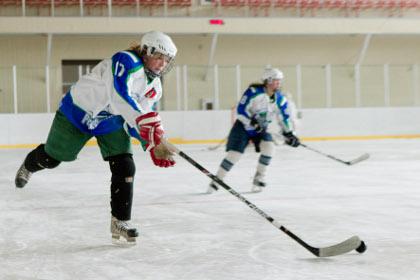 Ухтинские хоккеистки прервали свою безвыигрышную серию