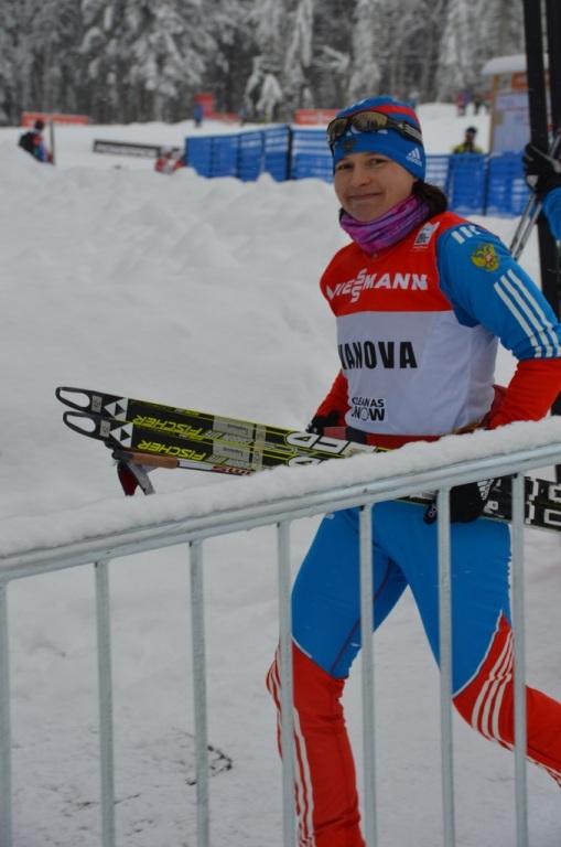 Юлии Ивановой из Коми не удалось пробиться в финал швейцарского этапа Кубка мира в лыжном спринте