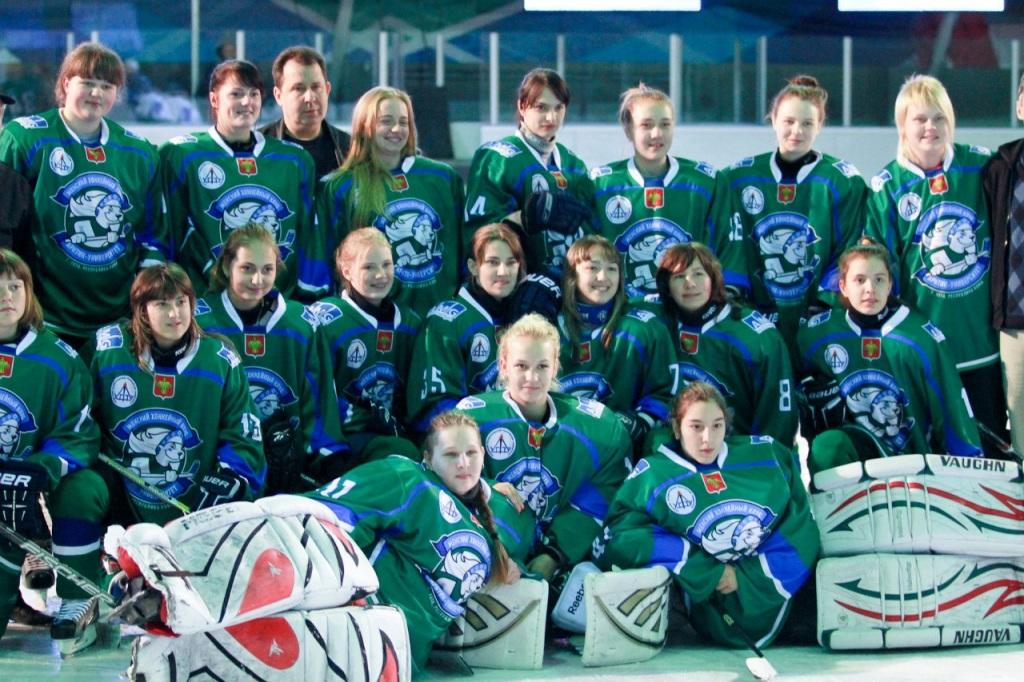 Ухтинские хоккеистки завершили чемпионат России на восьмом месте