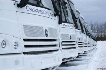 """... """"СыктывкарГорТранс """" выпустит на самые популярные в Сыктывкаре автобусные маршруты 20 новых ПАЗиков."""