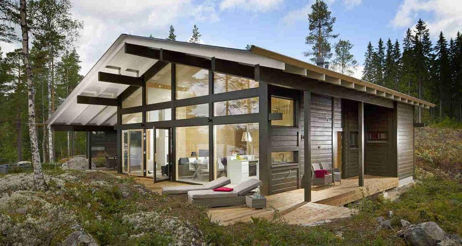 Характеристики домов по каркасной технологии