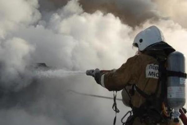 На пожаре в Ухте спасли человека