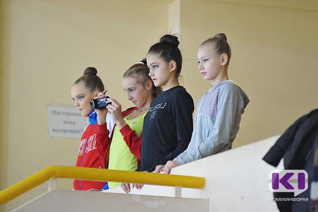 150 девушек приехали в Сыктывкар за званием самых грациозных спортсменок Северо-Запада России
