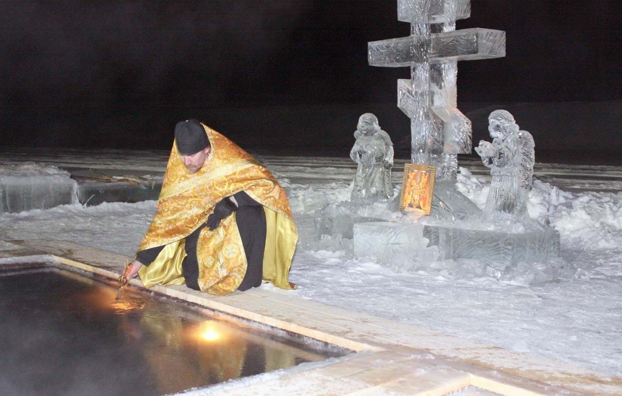 В храмах Коми прошло Великое освящение воды