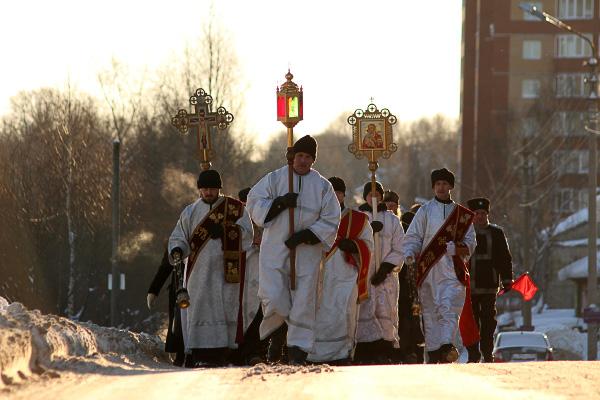 Крещение Сыктывкар встретит Крестным ходом