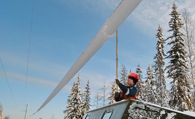 Регулярные отключения электроэнергии в Усинске