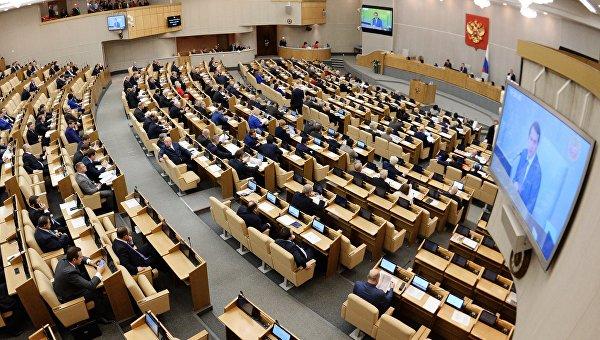 Госдуме предложили запретить выборы в период санкций и кризиса