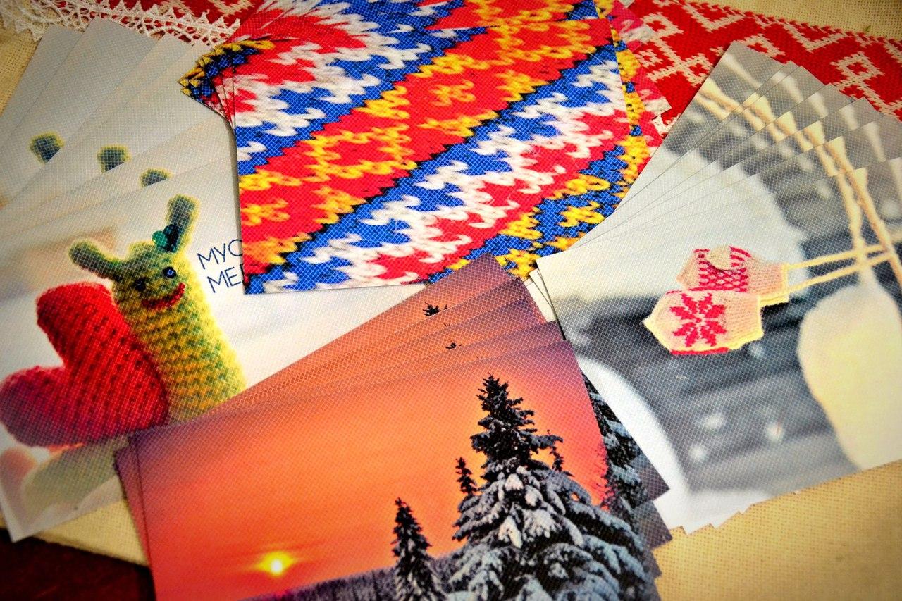 В День родного языка коми и удмурты обменяются открытками на родных языках