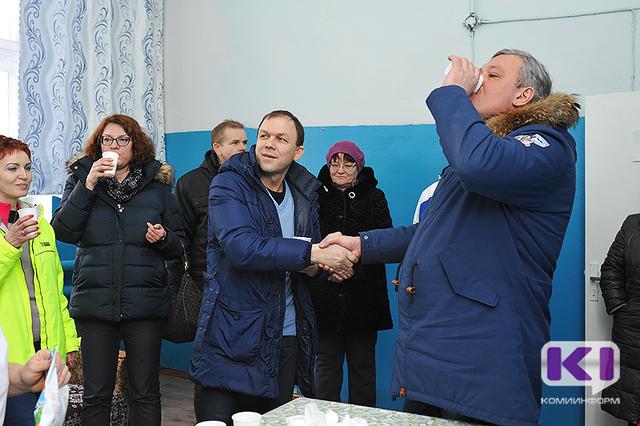 Сергей Гапликов оценил продукцию Койгородского мясо-молочного завода