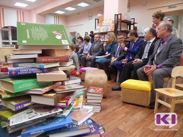 Более пяти с половиной тысяч книг подарили библиотекам Коми