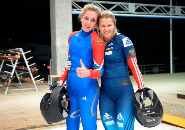 Командная гонка принесла сыктывкарке Юлии Шокшуевой победу на Чемпионате мира по бобслею и скелетону