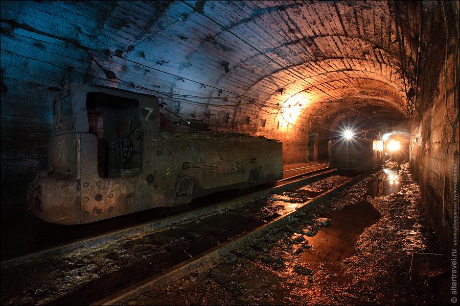 Под землей на шахте