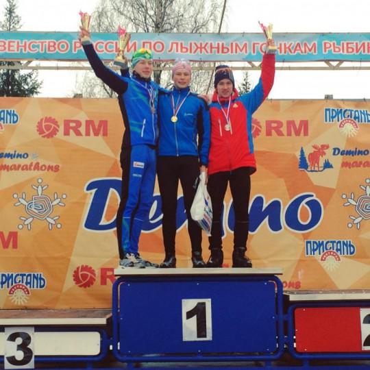 Лыжники Андрей Некрасов и Сергей Канев принесли сборной Коми сразу две медали на Первенстве России