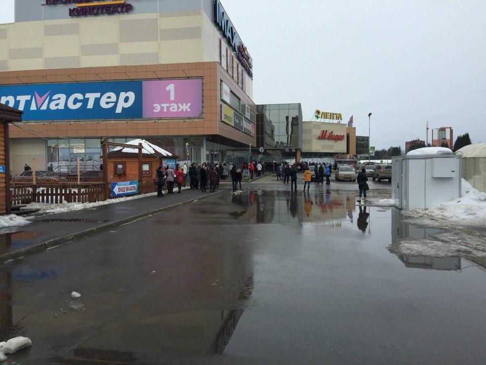 В Сыктывкаре посетителей ТРЦ