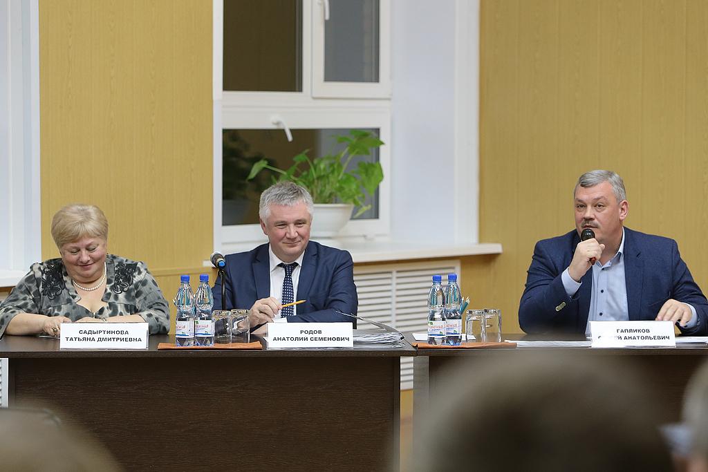 Население Прилузья пожаловалось Сергею Гапликову на недобропорядочных лесопользователей из других регионов