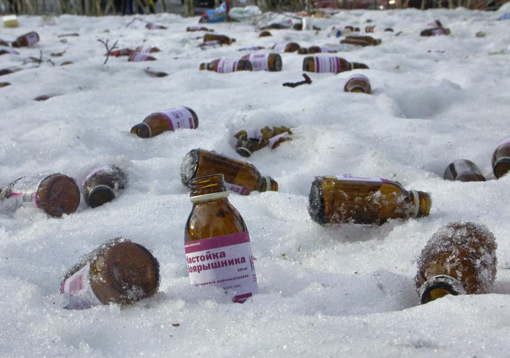 Минздрав меняет правила продажи спиртовых настоек