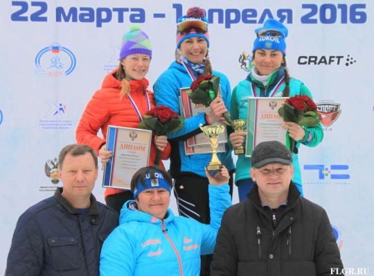 Ольга Царева и Ермил Вокуев пополнили копилку сборной Коми медалями Чемпионата России по лыжным гонкам