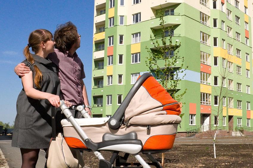 Минстрой позаботится о дешевых кредитах для молодых семей
